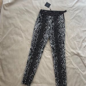 St. John Pants - New, animal print slacks, pants, never worn,